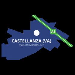 DIME Spa - Inquadramento Via Don Minzoni - Castellanza (VA)