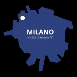 DIME Spa - Inquadramento via Stephenson - Milano