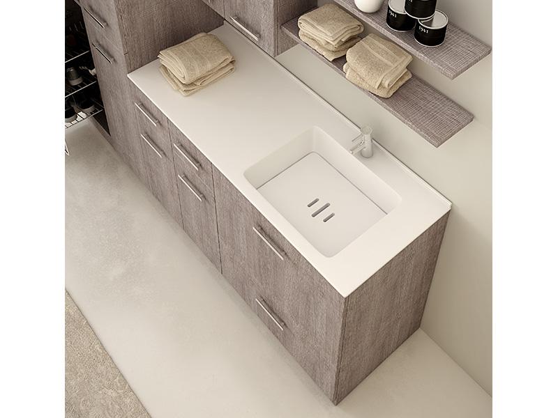 Disegno Bagno Absolute : Dime spa mobili e composizioni disegno bagno dime spa