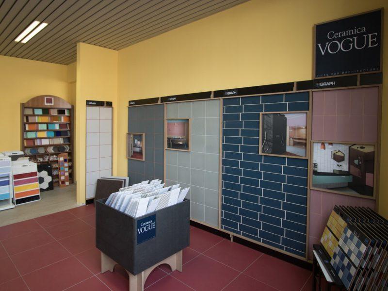 DIME Spa - Esposizione via Stephenson, 91 - Milano - Ceramica Vogue