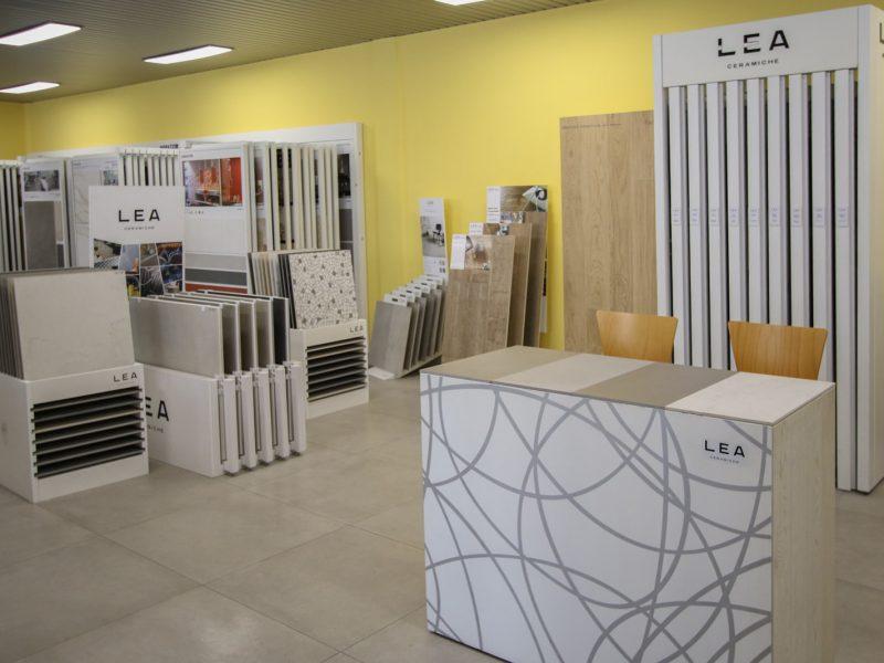 DIME Spa - Esposizione via Stephenson, 91 - Milano - LEA Ceramiche